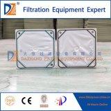 Dazhang reforzó la placa de filtro del compartimiento del polipropileno