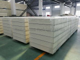 панель сандвича ~ 250mm гальванизированная стальная PIR 50mm для замораживателя холодной комнаты холодной комнаты