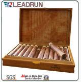 シガーのタバコのエヴァのまめの泡の挿入(YL20)が付いている木のギフトの箱の記念品ボックス