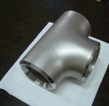 ステンレス鋼304 316 ASME B16.9の溶接ティー