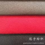 Polyester 100% mou superbe de suède de cheveu court pour le sofa