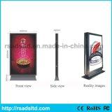 アルミニウムスクローリング掲示板の屋外のライトボックスを広告する熱い販売