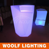Moderne Indoor en Outdoor Plastic LED Glow Bar Counter