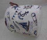 綿のハンドルのドローストリングが付いているFoldable記憶袋のバスケット
