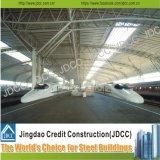 Costruzione d'acciaio della stazione di metro di montaggio della struttura