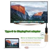 USB-C 3.1 (Thunderbolt 3) à imagem da oferta 4k@30Hz do adaptador de Displayport