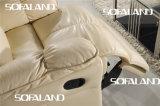 Sofá reclinável elétrico moderno da Itália (756)