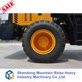 Le ce a reconnu le chargeur de roue de 2.5 tonnes avec l'accroc et les pièces d'assemblage rapides