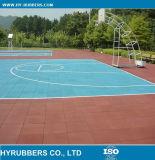 Azulejo de borracha do campo de jogos, azulejo de ginástica, tapete de chão de academia