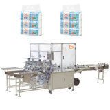 Machine de conditionnement de tissu facial de 8 paquets