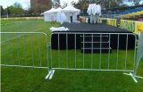 직류 전기를 통한 금속 소통량 방벽 대 군중 통제