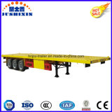 Flatbed Oplegger van de Container van de lage Prijs met het Slot van de Draai 12PCS
