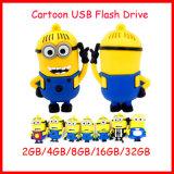 Subordinados del mecanismo impulsor del flash del USB de la historieta despreciables yo mecanismo impulsor del flash del USB