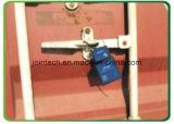Le GPS verrouillent le dispositif de cachetage de conteneur de traqueur pour le problème de garantie de rail de cargaison de contrôle de conteneur