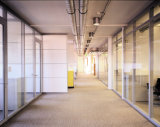 Aluminiumrahmen-Glastrennwände für Büro