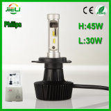 Faro dell'automobile di Philips 45 W.P. 86 H4 H/L LED
