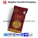 Logotipo feito sob encomenda saco impresso do empacotamento plástico do vácuo para o arroz
