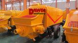 De Dawin 60m3/Hour del acoplado bomba concreta de piedra fina de gran alcance hidráulica profesional por completo