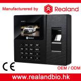 Enregistrement de présence biométrique de temps d'empreinte digitale de Realand