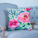 Het digitale Decoratieve Kussen/het Hoofdkussen van Af:drukken met Patroon Botanical&Floral (mx-19)