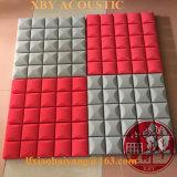 Panneau de mur décoratif de panneau de plafond de décoration de revêtement de mur de titre de mur de panneau de mousse acoustique d'absorption saine