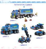 Form-LKW-Block-Spielzeug der Kind-163PCS des Plastik4