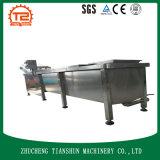 De Machine van de Verwerking van de gember met de Wasmachine van de Borstel voor Commerciële Was tsxg-30