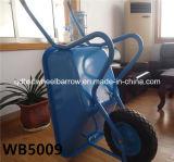 Carriola Wb5009 del cassetto galvanizzata modello popolare del mercato dell'Egitto