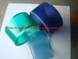 Cortina transparente antiestática de la tira del PVC