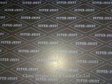 Rolo flexível da folha da grafita com engranzamento do metal