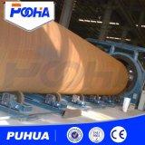 Macchina inossidabile di granigliatura di pulizia della superficie del tubo con il trasportatore a rulli