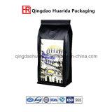 Мешок еды пластичного алюминиевого раговорного жанра кофеего упаковывая с застежкой -молнией