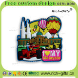 Souvenir respectueux de l'environnement personnalisé Malaisie (RC-MY) d'aimants de réfrigérateur de décoration promotionnelle de cadeaux