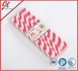 2016 diseño de la Navidad Beber pajas de papel partido pajas