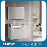 Новая мебель ванной комнаты MDF конструкции с сертификатом (SW-1323)