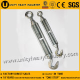 Electro Galvanized Commercial Type Malleable Turnbuckle