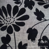 Franco Polyester Linen Fabric con Compound Backing Coated