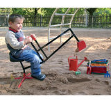 Mini escavador/máquina escavadora da caixa das areias dos miúdos