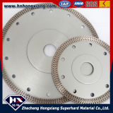 Bon Sharpness Cyclone Mesh Turbo Diamond Saw Blade pour Marble Granite Concrete