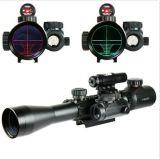 3-9X40によって照らされる戦術的なライフルのスコープ及び赤いレーザー及びホログラフィック点の視力