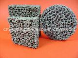 Pezzo fuso Sic del ferro/filtro di ceramica dalla gomma piuma del silicone carburo di silicone/carborundum/carbonio
