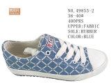 No. 49853 una signora Canvas Stock Shoes di tre colori