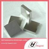 Super starker kundenspezifischer permanenter Block-Magnet des NdFeB Neodym-N35