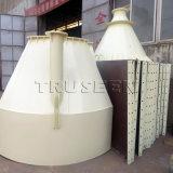 販売のための穀物貯蔵用サイロの価格の小さい鋼鉄サイロは50トンのセメント・サイロ使用した