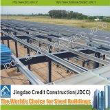Almacén industrial de la estructura de acero de la azotea de la luz del sol