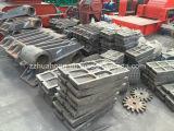 Kleine mobile Kiefer-Brecheranlage, Basalt-Kiefer-Brecheranlage, Hardrock-Kiefer-Brecheranlage