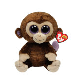 연약한 박제 동물 장난감 소녀를 위한 긴 팔과 다리 원숭이 견면 벨벳 장난감