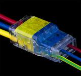 Connecteur rapide de fil de série bi-directionnelle pour l'éclairage de DEL