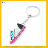 Weicher Decklack-Sport-Schuh-Entwurf Keychain