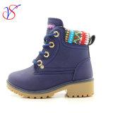 Приспособленная семьей работа деятельности безопасности впрыски детей малышей Boots ботинки для напольной работы (SVWK-1609-038NAVY)